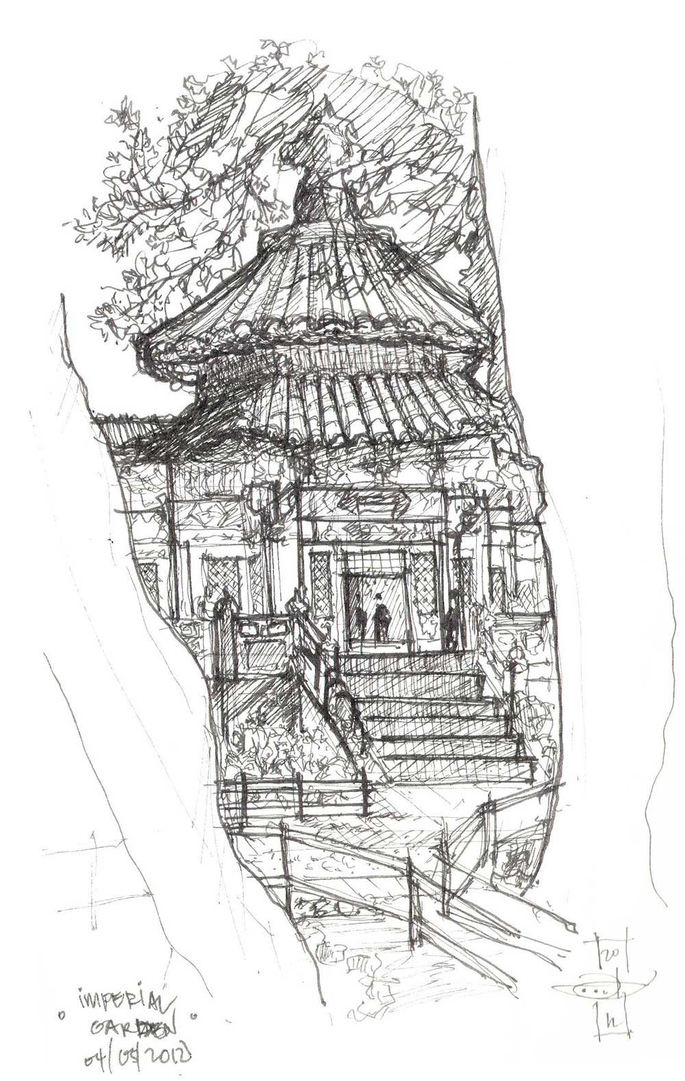 China Sketchbook